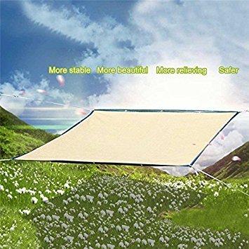 Lulalula - Toldo para toldos (2 x 3 m, 2 x 3 m), color arena