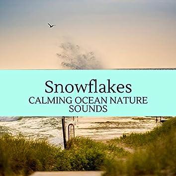 Snowflakes - Calming Ocean Nature Sounds