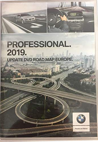 BMW Navi DVD 2019 Europa Professional Map 1 er 3 er 5 er