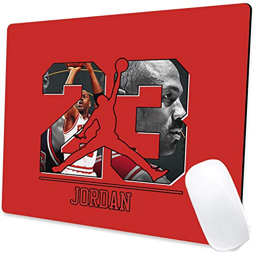 Gaming Mouse Pad,Last Dance Jordan Mouse Pad Non-Slip Rubber Base Mouse Pads for Computers Laptop Office,9.5'x7.9'x0.12' Inch(240mm x 200mm x 3mm)
