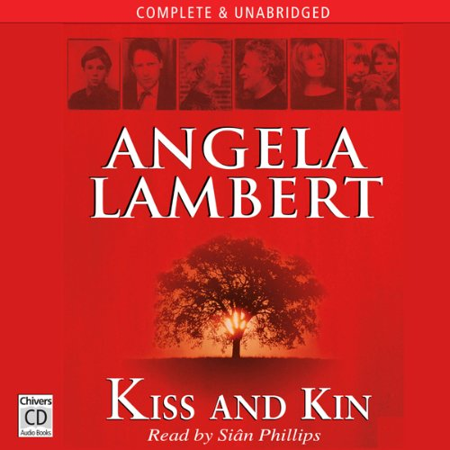 Kiss and Kin audiobook cover art