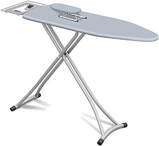 ZQCM Planche à Repasser, avec Housse en Tissu de Coton, Planche à Repasser épaissir la Table à Repasser Anti-brûlure pour ...