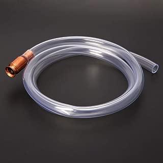 JOYKK Bomba de sifón de Gas Gasolina Combustible Agua Agitador Sifón Seguridad Autocebado Tubo de Manguera - Transparente