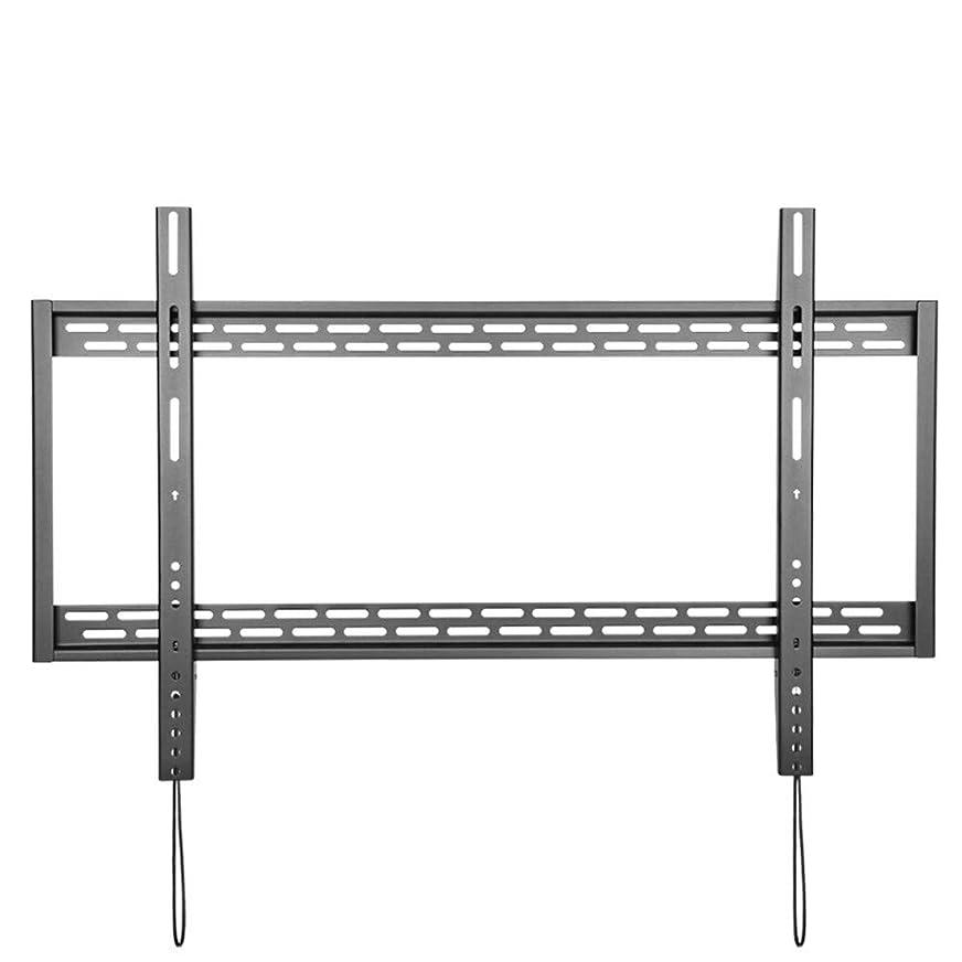アシスタント形ドライユニバーサルテレビ壁掛け金具固定フラットパネルテレビのフレームのための60 100インチLCDモニターLEDフラットパネルに 省スペーステレビブラケット