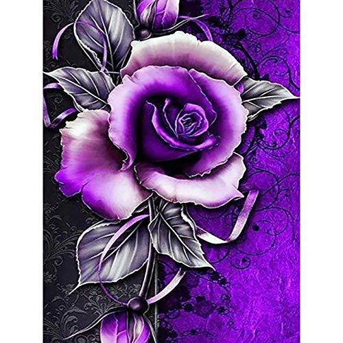 AQgyuh Puzzle 1000 Piezas Flores Rosas Puzzle 1000 Piezas clementoni Educativo Divertido Juego Familiar para niños adultos50x75cm(20x30inch)