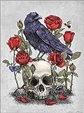 Poster 30 x 40 cm: Memento Mori von Terry Fan -