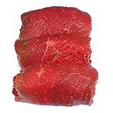 Rinderrouladen vom Simmentaler Rind , fertig gefüllt mit Dörrfleisch, Zwiebeln, Gurke, Senf und Gewürzen. 5 Stück = 1.250 g
