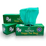 Quality Chemical Doggie Pot Litter Bag Refills. 8' x 13' Unscented. 10 Boxes of 200, 2,000 Bags PP-RB-200