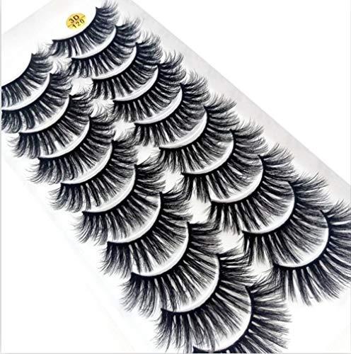 KADIS 5 / 10Paires 3D Faux Cils Naturel épais Long Faux Cils Dramatique Faux Cils Extension de Maquillage Cils, 120