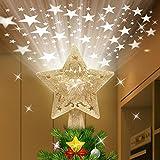 SXSGSM Puntale per Albero di Natale, Stella Superiore dell'albero di Natale...