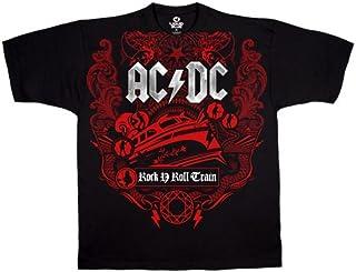 Liquid Blue Men's ACDC Rock & Roll Train Short Sleeve T-Shirt