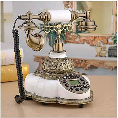 ZZTX Teléfono / 1800Mhz Tarjetero SIM Teléfono Fijo Teléfono Fijo inalámbrico Oficina en casa Hotel,Blanco