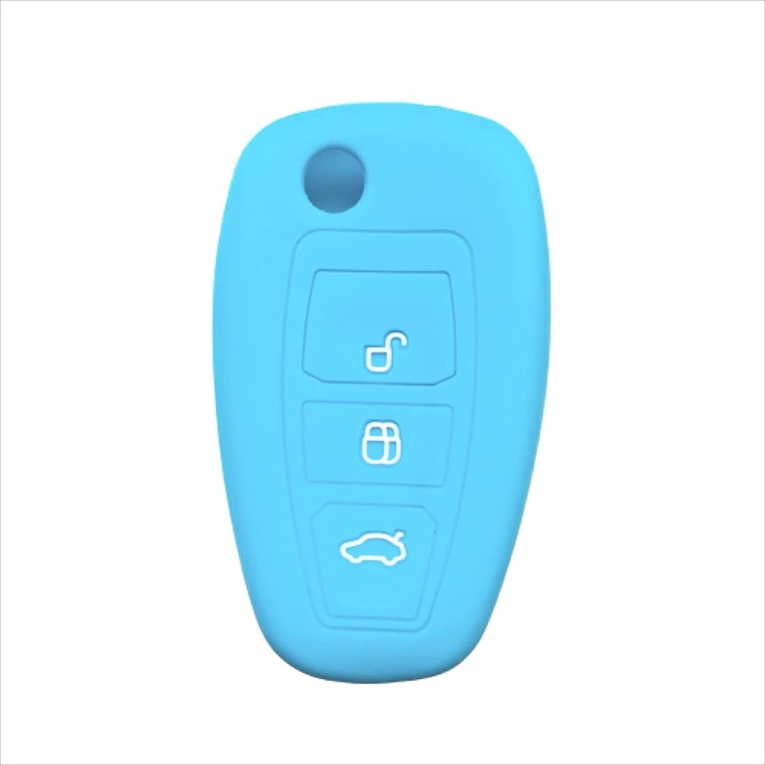 ASHDelk 3 Button Custom Challenge the lowest Max 88% OFF price of Japan ☆ Silicone Car F Case Key Fob Cover Remote