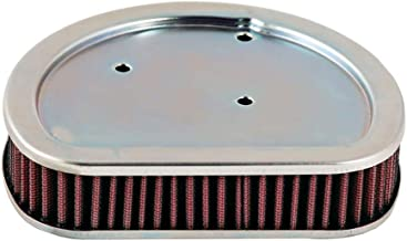 K&N Motorcycle Air Filter: High Flow Performance Air Filter Fits 2008-2013 Harley Davidson Road King Street Road Glide Washable & Reusable OEM # Replacement 2963308  Air Filter HD-1508