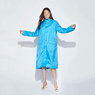 WZHZJ Long Raincoat Women Poncho Waterproof Outdoors Tour Rain Coat Poncho Jacket Cloak Female Raincoat Impermeables (Size...