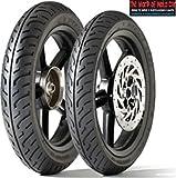 Par de neumáticos Dunlop D451para Honda SH 150, tamaño delantero 100/80–1650P tamaño...