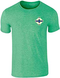 Northern Ireland Soccer Retro National Team Graphic Tee T-Shirt for Men