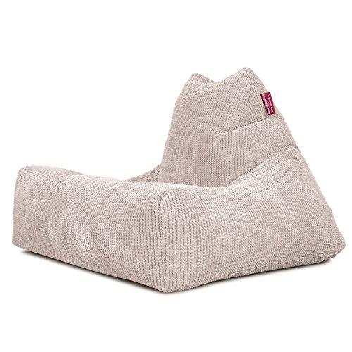 Lounge Pug®, Sitzsack Lounge Sessel, Pom-Pom Creme