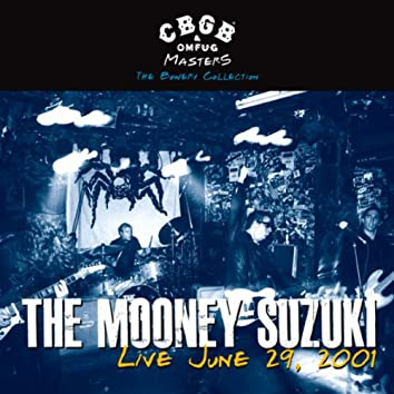 Cbgb Omfug Masters: Live June 29, 2001 The Bowery Collection
