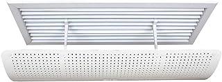 Deflector de aire acondicionado Central Aire Acondicionado Parabrisas Escudo para Sala de Estar, Dormitorio, Estudio, Hotel (Size : 58CM)