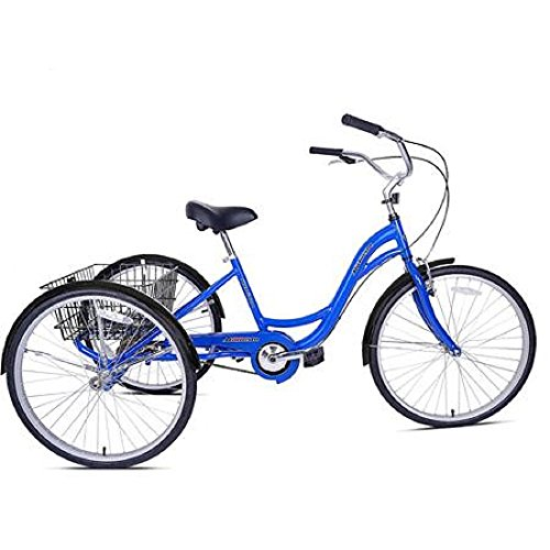 26' Kent Alameda Adult Tricycle Easy Riding On Smooth Surfaces Aluminum