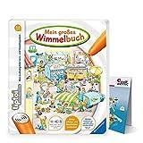 Ravensburger tiptoi ® Mein großes Wimmelbuch + Kinder Wimmel-Weltkarte - Länder, Tiere, Kontinente