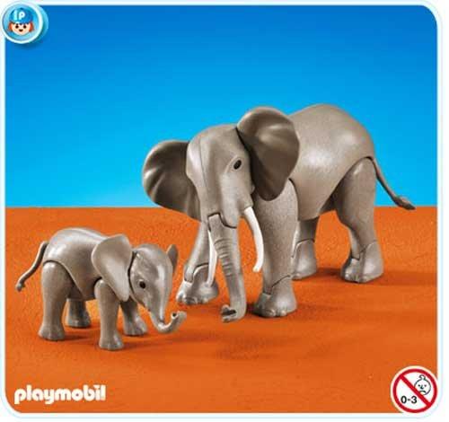 PLAYMOBIL® 7995 Elefant mit Baby (Folienverpackung)