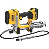 DEWALT 20V MAX Cordless Grease Gun (DCGG571M1),Yellow,V11 Torque
