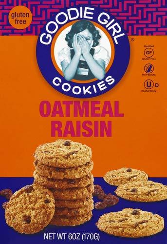 Goodie Girl Cookie Gluten Free Oatmeal Raisin, 6 oz