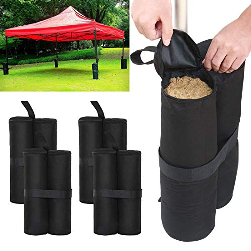 MultiWare 4 Pack Gazebo Sand Weights Industrial Grade Trampolines Weighted Feet Bag