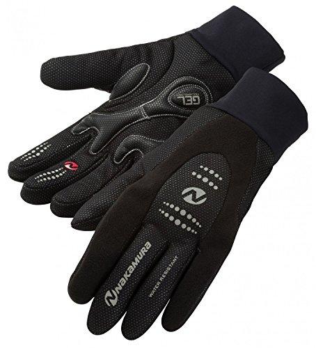 Nakamura Herren Rad-Handsch.Windshield Handschuhe, Black, XL