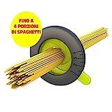 Dosatore per Spaghetti misura fino a 4 porzioni. Misuratore pasta spaghetti in 4 colori assortiti