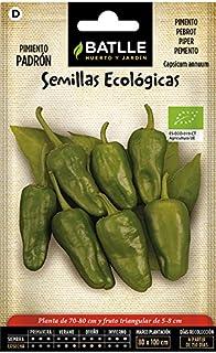 comprar comparacion Semillas Ecológicas Hortícolas - Pimiento Padrón - Batlle