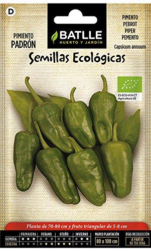Semillas Ecológicas Hortícolas - Pimiento Padrón - Batlle