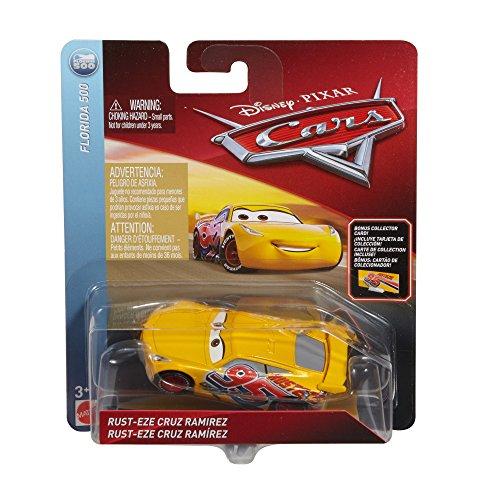 Disney Pixar Cars Die-cast Final Race Cruz With Accessory Card Vehicle