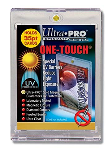 Ultra Pro 35 pt One-Touch Magnet Card Holder with UV Protection