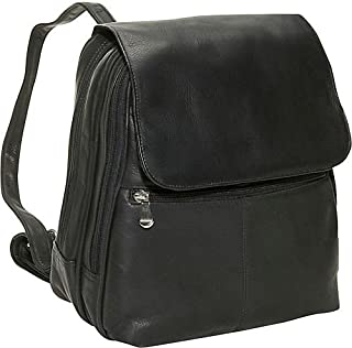 David King & Co. Women's Organizer Backpack, Black, One Size