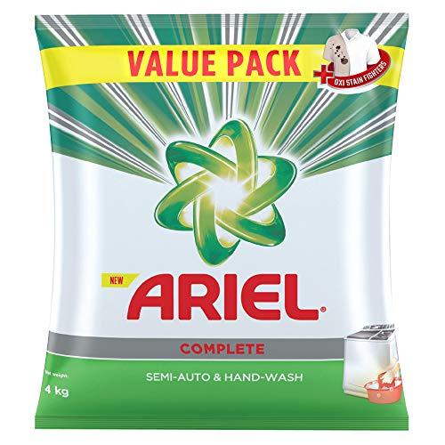 Ariel Complete Detergent Washing Powder – 4Kg Value Pack
