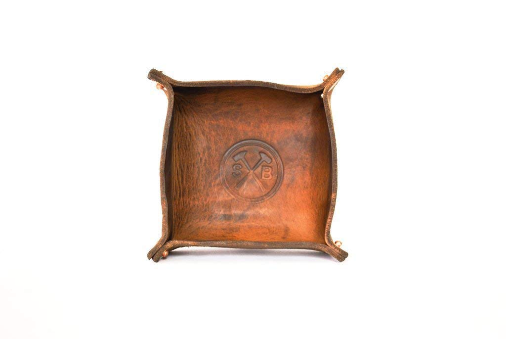 All Leather Catch Bowl - Decorative Award Coins Je New color Keys Dish for