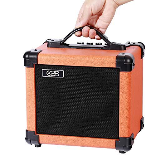 OBB10G Mini amplificatore per chitarra 10W Amplificatore portatile per chitarra elettrica Altoparlante combinato, costruito in Bluetooth