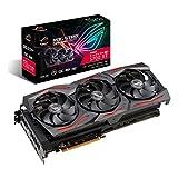ASUS ROG Strix AMD Radeon RX 5700XT Overclocked 8G GDDR6 HDMI DisplayPort Gaming Graphics Card (ROG-STRIX-RX5700XT-O8G-GAMING) (Renewed)