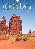 USA Suedwest Facettenreiche Landschaften (Wandkalender 2022 DIN A4 hoch): Eindrucksvolle Naturschauplaetze entdecken (Planer, 14 Seiten )