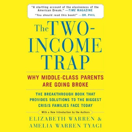 The Two-Income Trap audiobook cover art