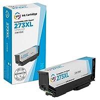 LD ©リサイクルEpson t273X l220/ t273220/ 273x l / 273高Yieldシアンインクカートリッジ式xp-520、xp-600、xp-610、xp-620、xp-800、xp-810& xp-820