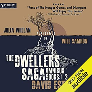 The Dwellers Saga Omnibus cover art