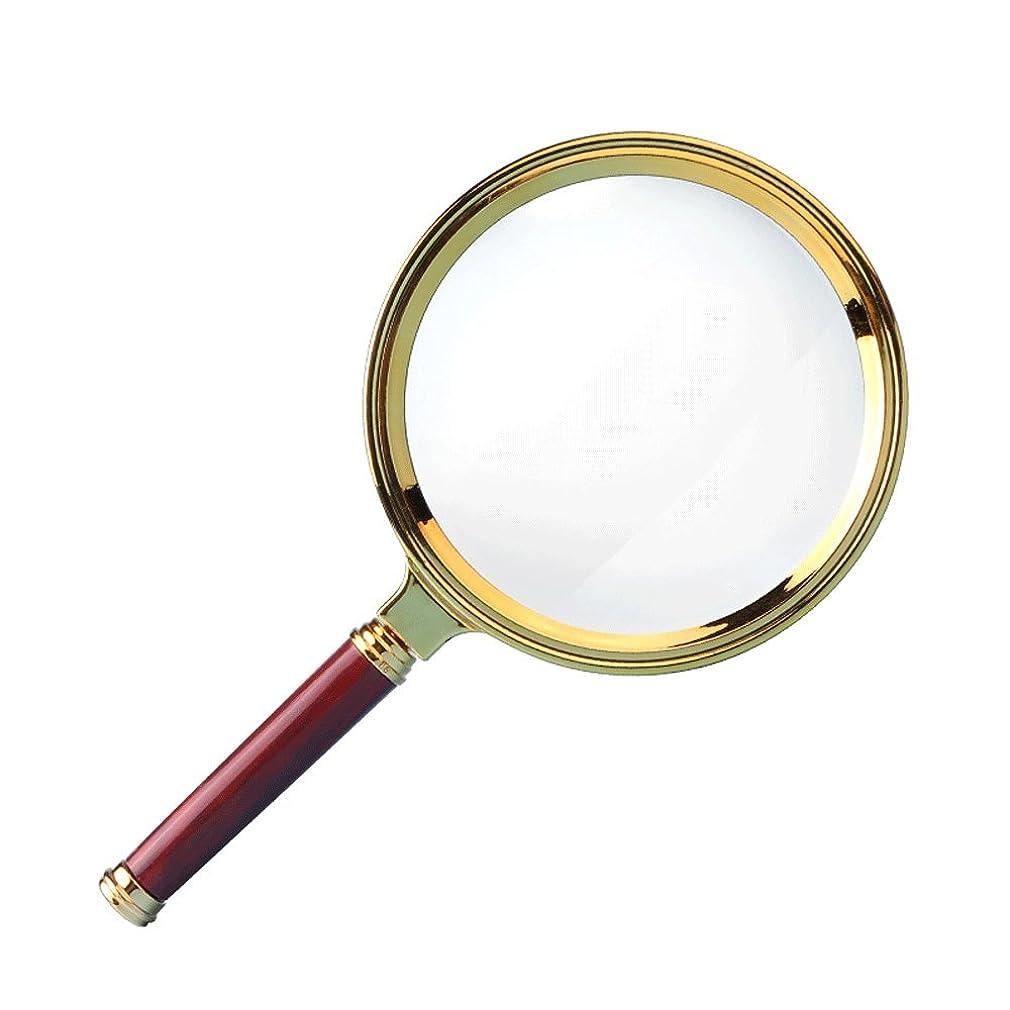 外科医エスカレーター指紋虫眼鏡ABS光学レンズ高倍率HD高齢の虫眼鏡10倍ハンドヘルド子供拡大鏡読む時計電話ジュエリー鑑定電子修理ポータブル拡大鏡100ミリメートル
