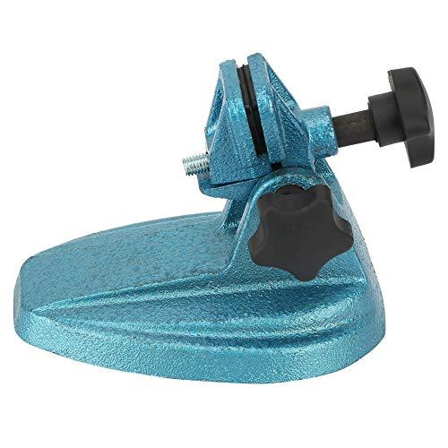 Soporte de micrómetro, soporte de micrómetro de hierro fundido, pedestal de soporte de micrómetro base, operación simple, estable, para sostener el micrómetro, capaz de sostener cualquier micrómetro d