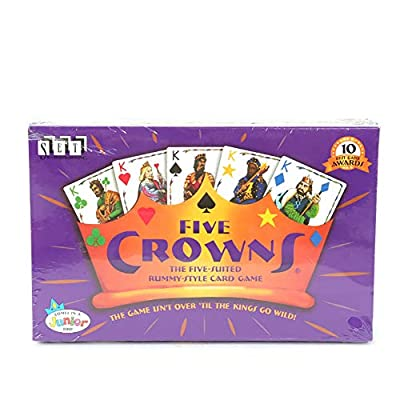 LJF Card Game, Five-Star Crown Poker Board Game Card, Have Fun and Fun with Friends and Family