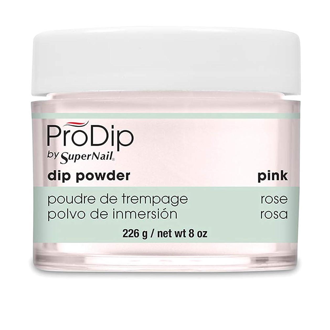カヌー一時停止曲がったSuperNail - ProDip - Dip Powder - Pink - 226 g/8 oz
