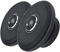 DB Drive WDX6MOTO Gen1 6.5-Inch 2 Way 150 RMS Weather Resistant Coaxial Speakers with Aluminum Tweeter 350W Max 4 Ohm (Pair)